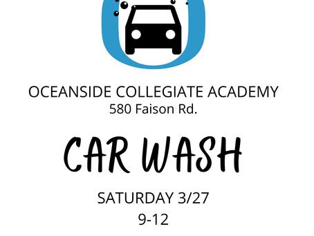 Car Wash - SATURDAY 9-12