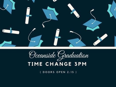 Graduation Time Change