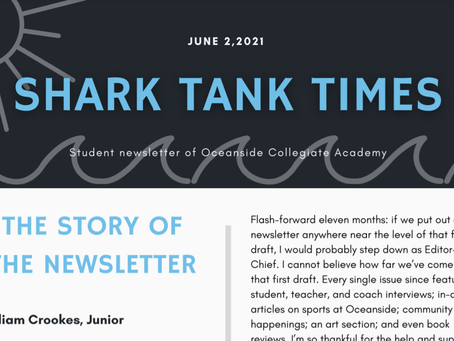Student Newsletter - June 2021