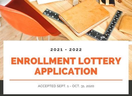 2021-2022 Enrollment Lottery