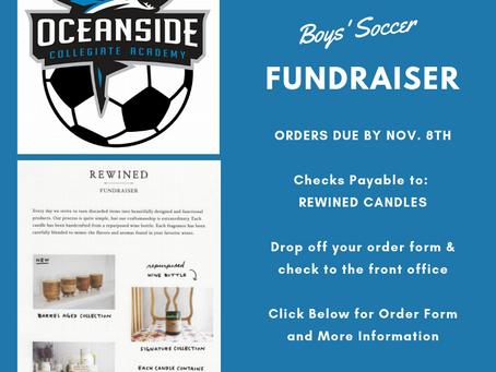Boys' Soccer Fundraiser