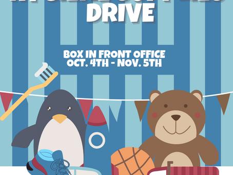 NHS Toy & Hygiene Supplies Drive