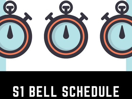 S1 Bell Schedule