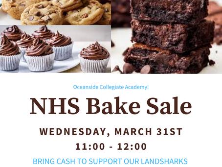 NHS Bake Sale