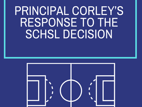 SCHSL - Updates from Principal Corley