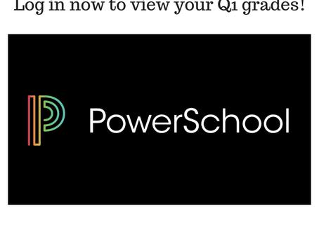 Q1 Grades
