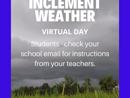 Extreme Weather Virtual Day 3/18