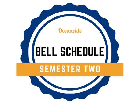 S2 Bell Schedule