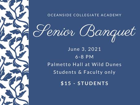 Senior Banquet - Last Chance for Tickets