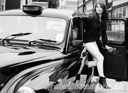 black Fairway taxi for film hire