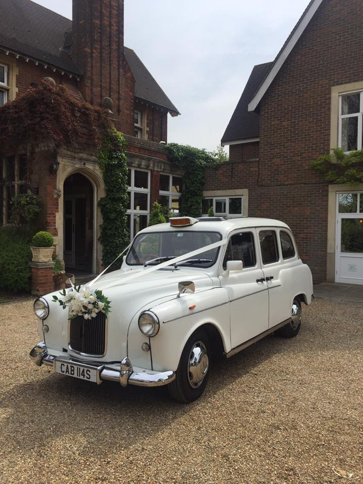 white London wedding taxi for hire