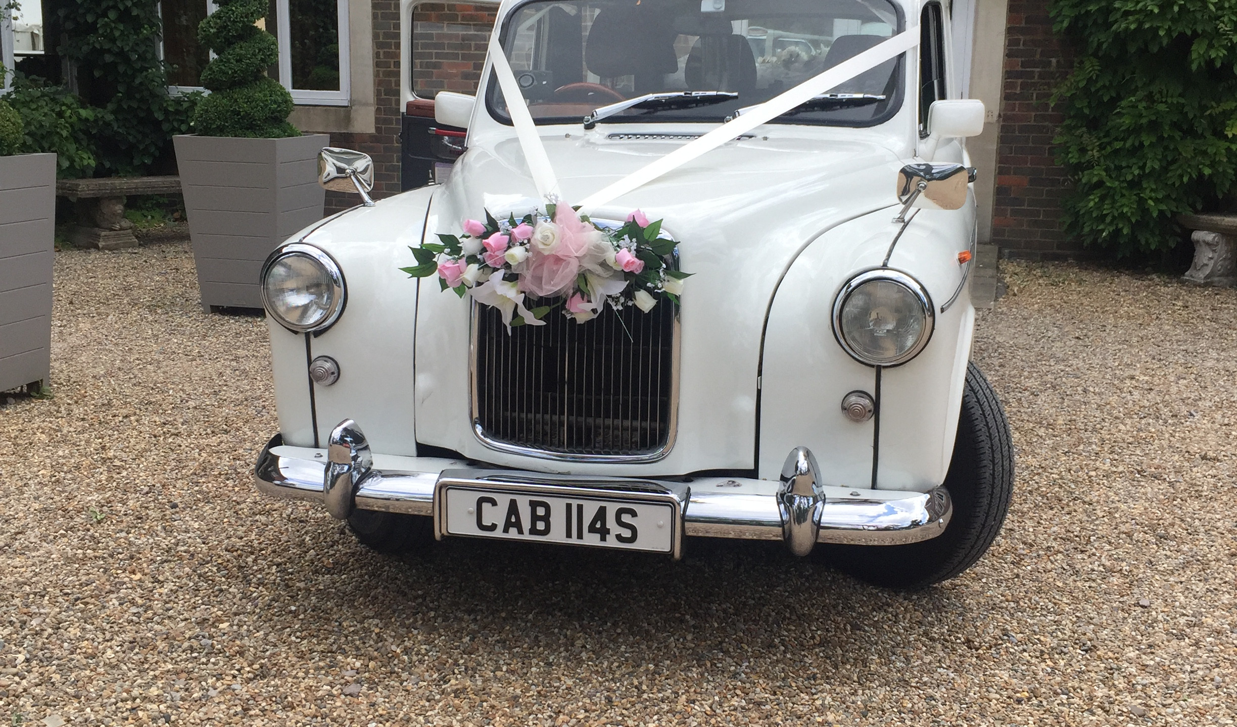 white wedding cars for hire – London
