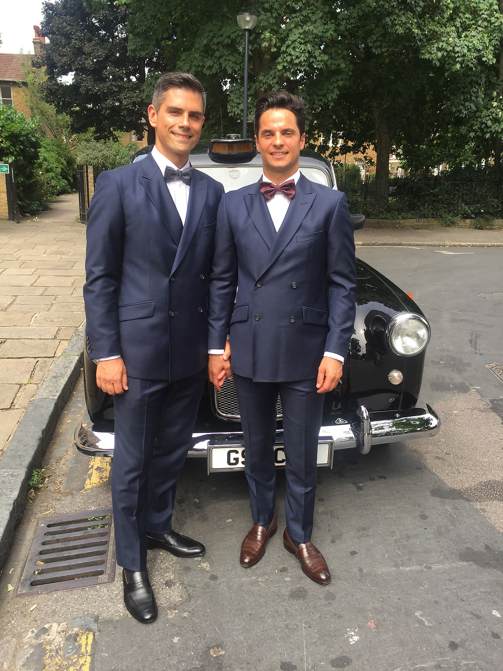 London civil ceremony in Greenwich, London