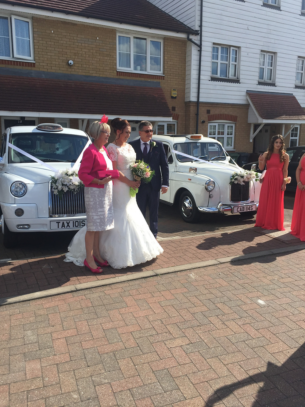 Wedding at Langton's, Hornchurch – wedding car hire