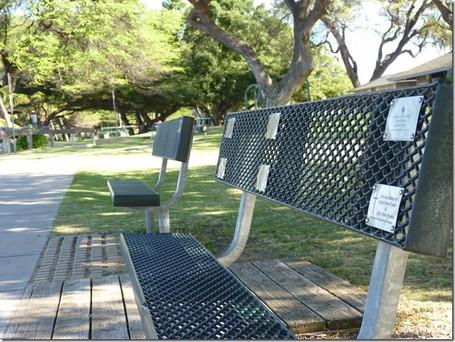 Sponsor a Park Bench Program!