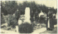 Historical photo of Greenwood cemetery from early 1900's