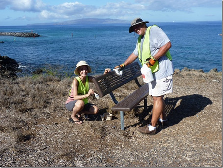 Park Amenities Prevent Erosion