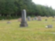 Current photo of monuments in Greenwood Cemetery