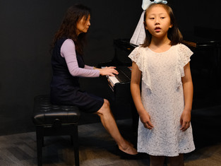 Singing Studio Performance