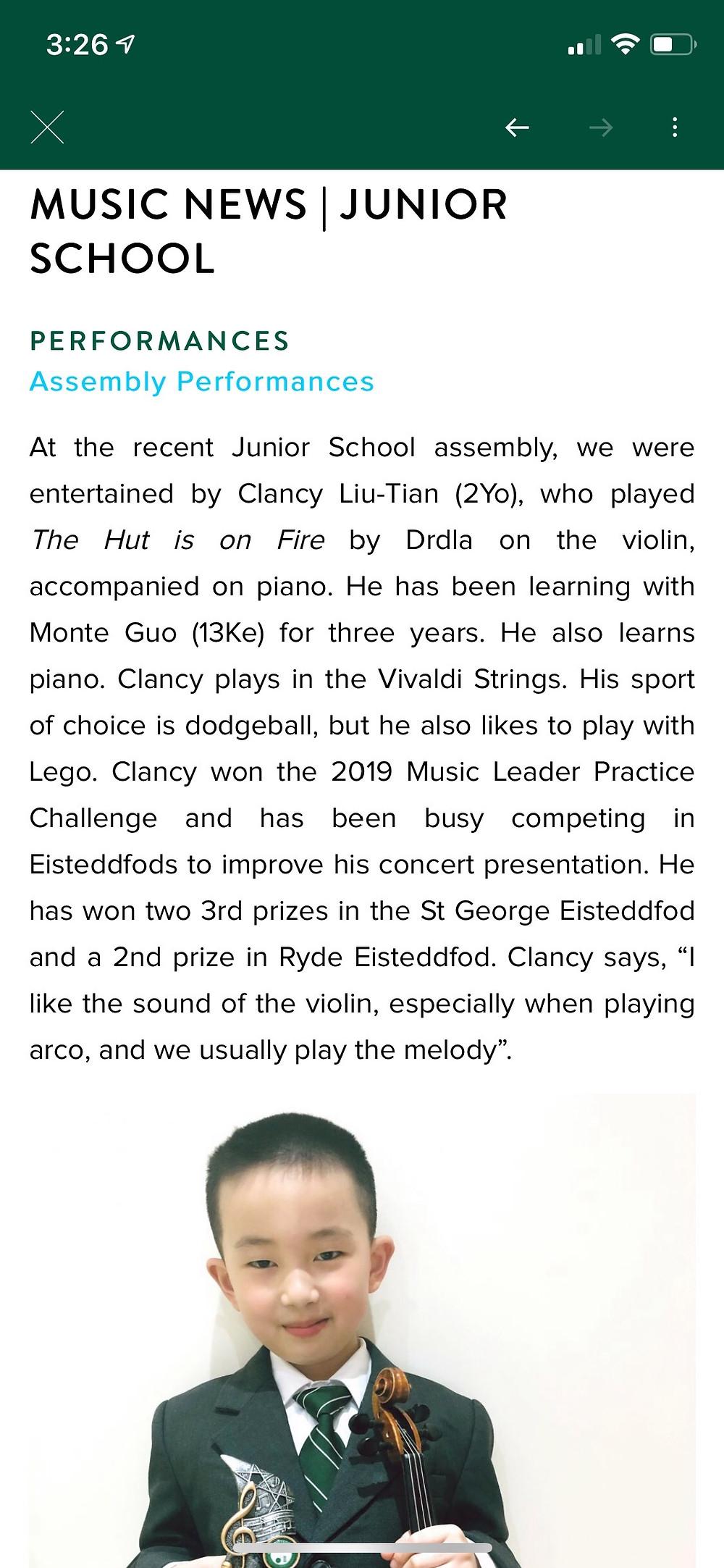 Trinity School Newsletter 2019