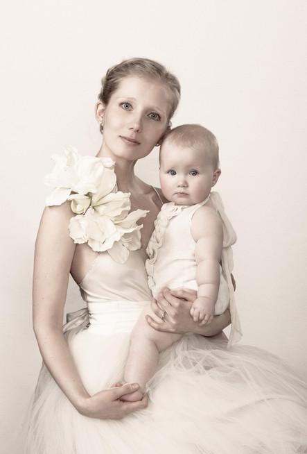 Mor og barn - portrætfotografering