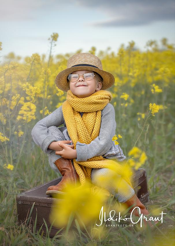 solskin - børnefoto