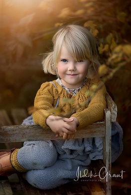 Børneportræt - GrantFoto.dk