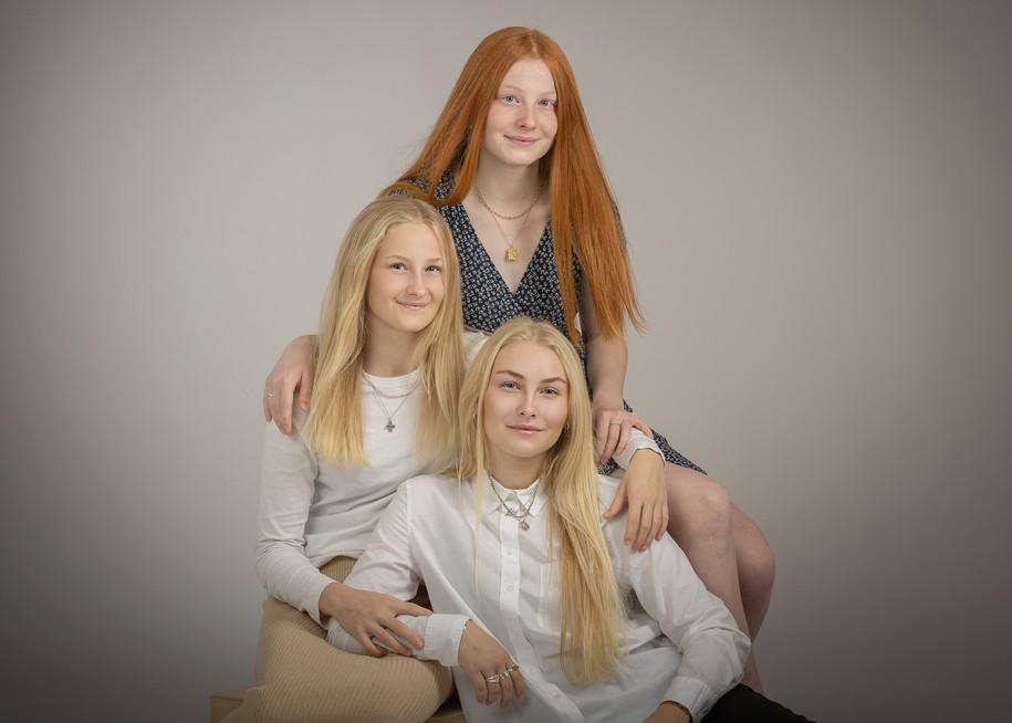 Søskende - familieportræt