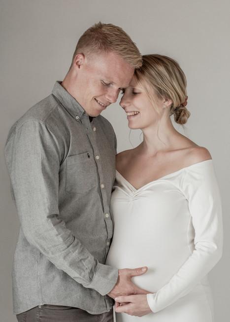 Gravid fotooptagelse