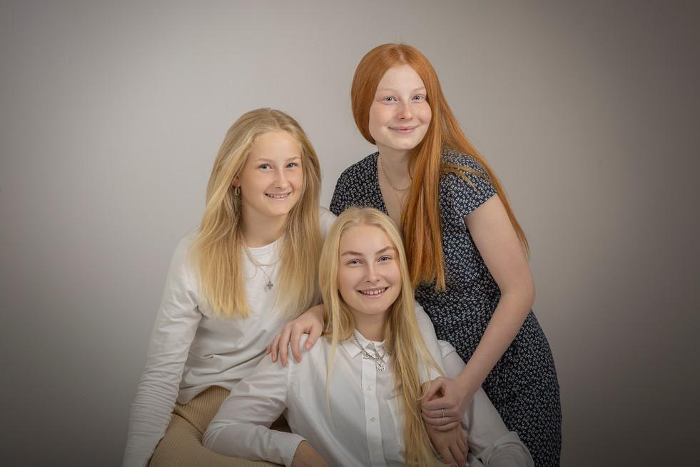 Søskende - portræt