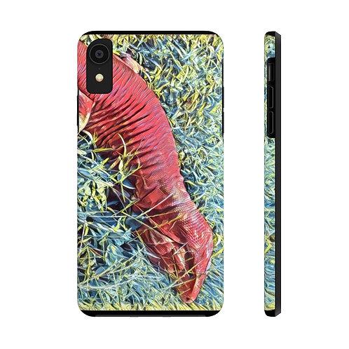 Red Tegu Lizard Tough Phone Cases. Reptile, Tegu World