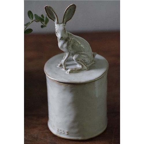Hare Tin (12x12x26cm)