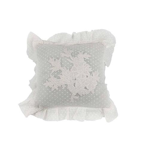 Mini cushion Libertine Ivoire (30X30)