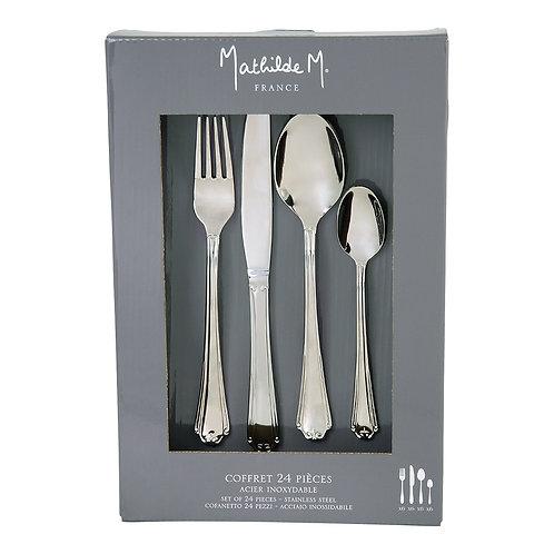 Cutlery set of 24 pieces Madame de Polignac