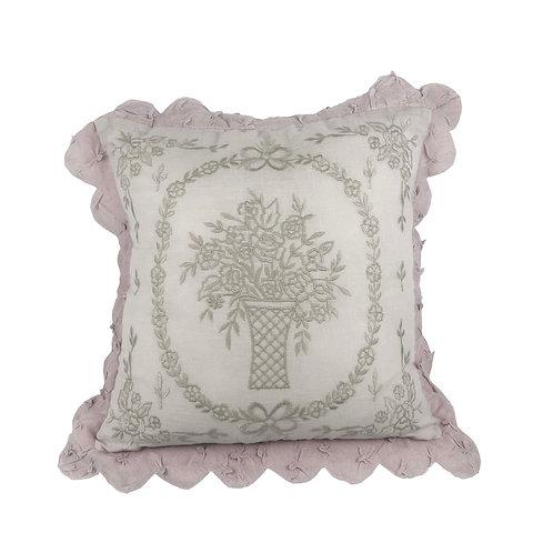 Cushion Cover Liseron Parme (45x45)