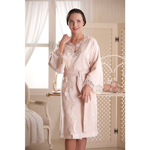 Luxury Bathrobe Inci - Powder