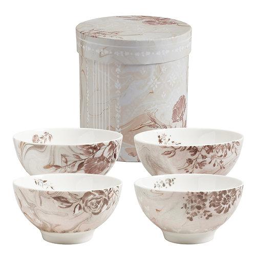 Set of 4 bowls Palazzo Bello