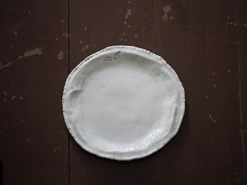 Drip Appetizer plate (18.5 x 18cm)