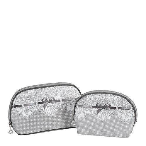 Set of 2 toiletry bags Dentelle