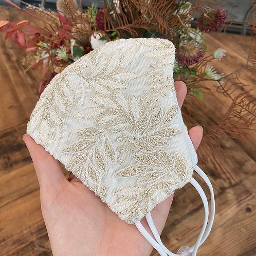 Wedding mask Aldre Gold