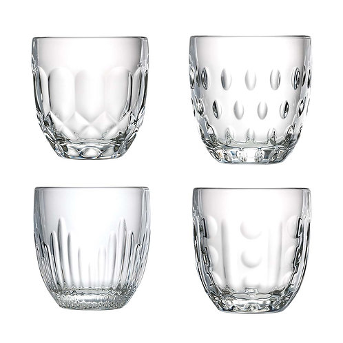 TROQUET Assorted Tumblers Set (4pcs)