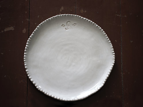 Drip Salad plate (23 x 24cm)