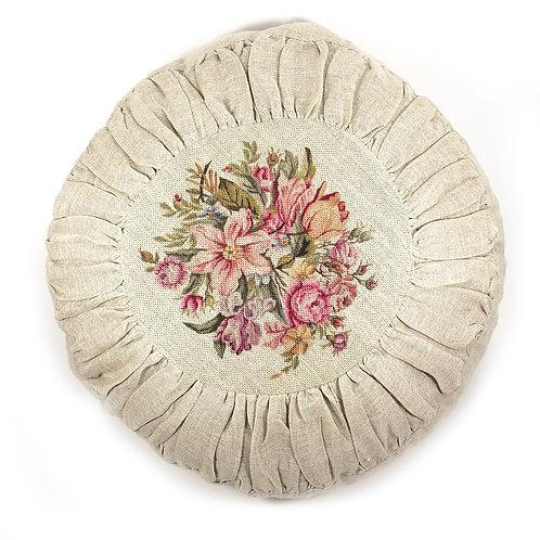 Round Cushion Ovrage