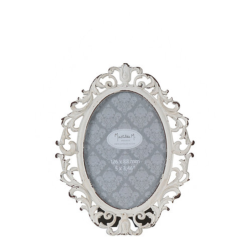Picture frame oval Josephine
