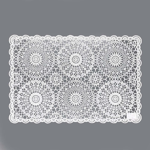 Placemat Lace - White