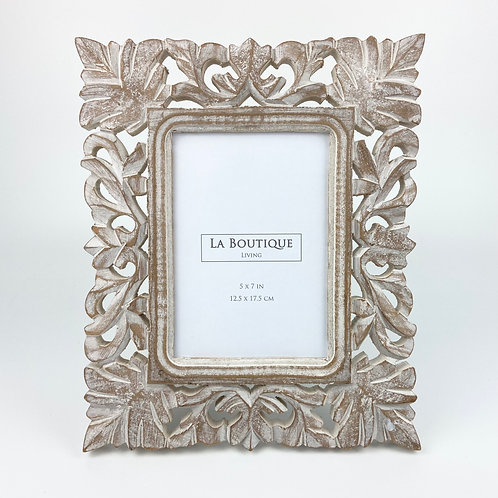 """Handcrafted wooden frame  No.87, 5""""x7"""""""