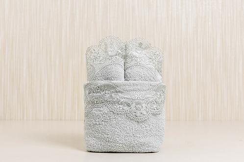 Hand Towel Set INCI(4pcs Towel + Sac) L.Green