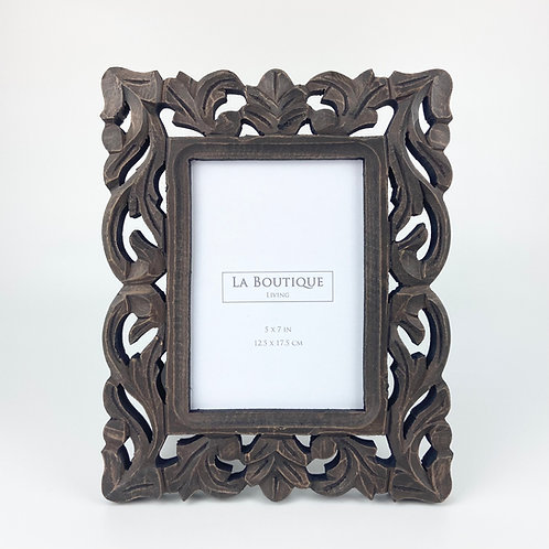 """Handcrafted wooden frame  No.12, 5""""x7"""""""