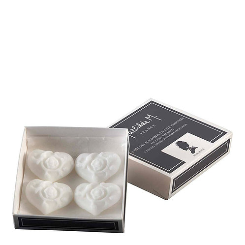 Box of 4 scented wax melts, MARQUISE