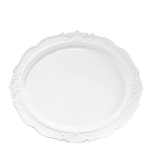 Serving oval tray L